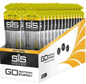 SiS Go Isotonic Energy Lemon Lime Gel 60ml - Pack 30