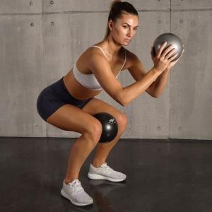 Pilates Ball Combo Silver & Blue
